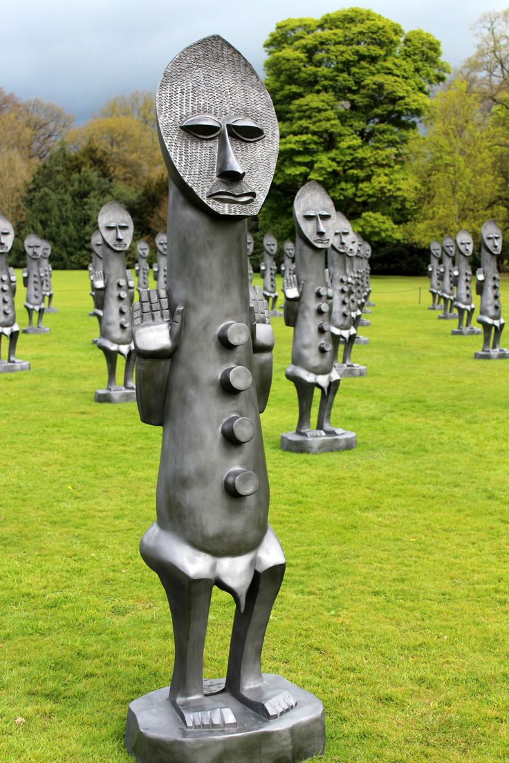 Yorkshire Sculpture Park; April 2017