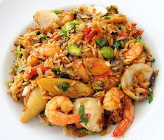 Resep Nasi Goreng Seafood