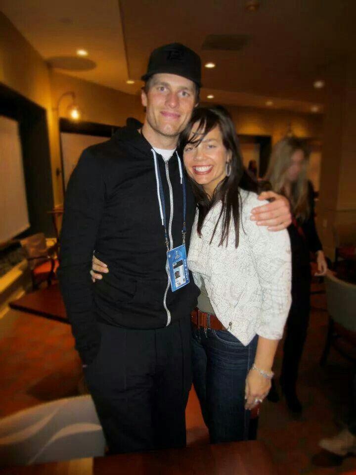 Tom and his sister Nancy | New England Patriots-12-Tom Brady | Tom