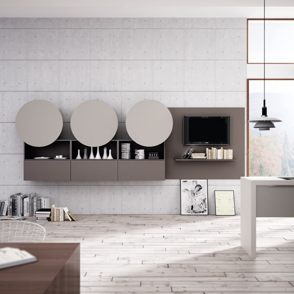 Valencia. Open Collection. Colour touches for creative geometry. Design by R&D Center. #kitchen #design #modern #original