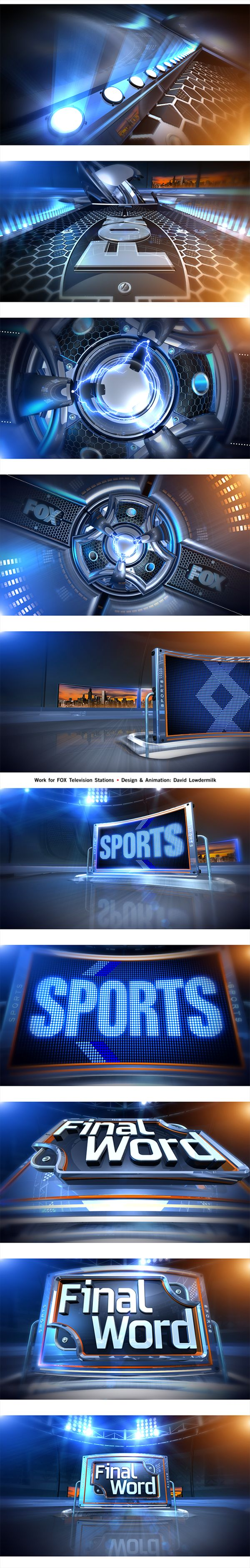 "Sports Open - ""FINAL WORD"" by Milkman Dave, via Behance"