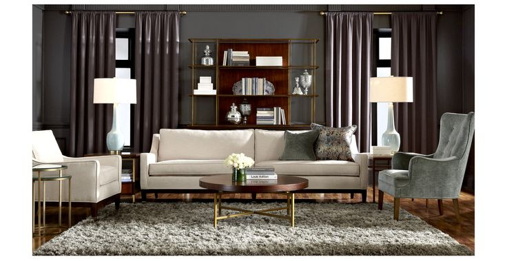 Emory Sofa   Mitchell Gold + Bob Williams | Inspiration | Pinterest | Mitchell  Gold, Living Rooms And Library Room