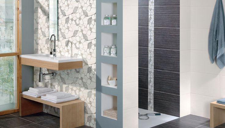 Fotos de ambiente cer mico para cuarto de ba o con nuevas for Banos interiores decoracion