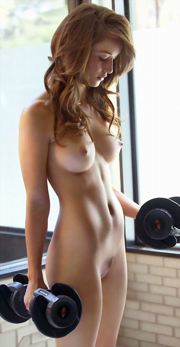 Fit ginger nude rhino horn