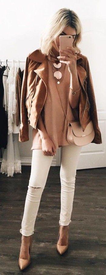 Perfect Colour Combo Outfit Idea                                                                             Source