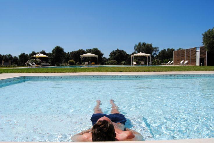 Piscina - Swimming Pool  http://masseriacordadilana.it/ #masseriacordadilana #divertimento #relax #piscina #vacanze #holidays #salento #travel #swimmingpool #familyhotel  ©Lucilla Cuman Photography