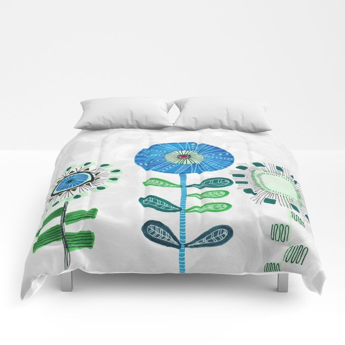 Buy Floral vibes Comforters by vivigonzalezart. Worldwide shipping available at Society6.com. Just one of millions of high quality products available.