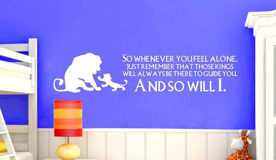 Wall Art Decal  Always be there to guide you