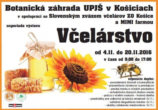 V Botanickej záhrade UPJŠ v Košiciach je 5. ročník výstavy Včelárstvo - Voľný čas - SkolskyServis.TERAZ.sk