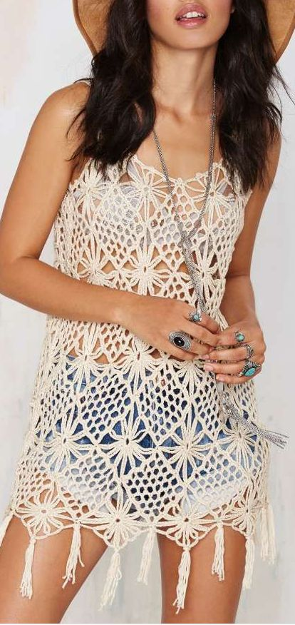 matina crochet dress