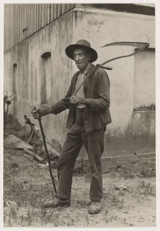 [Farmer, Eifel (Bauer aus der Eifel)]; August Sander; Germany; 1930