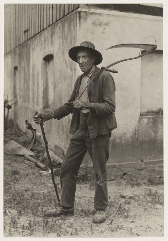 [Farmer, Eifel (Bauer aus der Eifel)]; August Sander; Germany; 1930