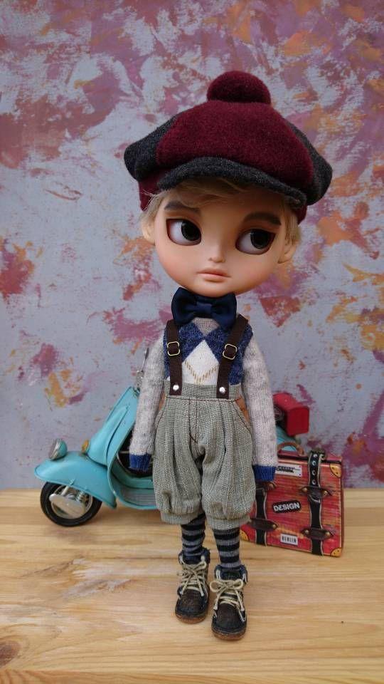Guarda questo articolo nel mio negozio Etsy https://www.etsy.com/it/listing/535332217/blythe-boy-vintage-style-clothing-61s