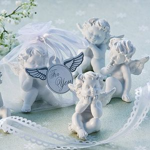Little Angel Figurine Favors, Sooo cute, they're heavenly! Whether you're looking for an angelic little keepsake for your wedding in soft white, or a perfect favor for your child's Baptism, First Holy Communion, baby shower or other special event - these adorable cherub figurines symbolize the innocence and beauty within everyone.