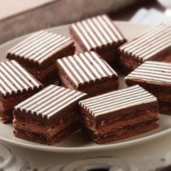 Chocolate Mousse Torte Squares | Food | Pinterest