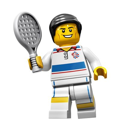 Tennis Player - Team GB Collectable