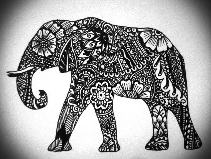 elephant tattoo design tattoo mama pinterest elephant tattoo design tattoo designs and. Black Bedroom Furniture Sets. Home Design Ideas