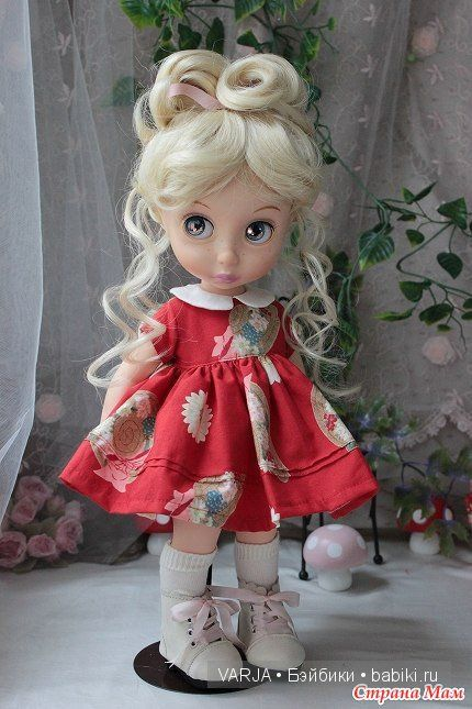 Принцессы Диснея - Disney Animators'. Сравнение кукол разных выпусков. Часть II / Умница Алена, Анюта, Принцессы Диснея и другие куклы от Playmates / Бэйбики. Куклы фото. Одежда для кукол