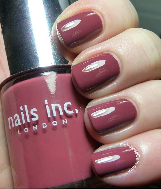 Nail of the Day: Nails Inc. Westbourne Terrace | Pointless Cafe