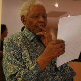 Facebook profile of Nelson Mandela with quotes and extracts from his books