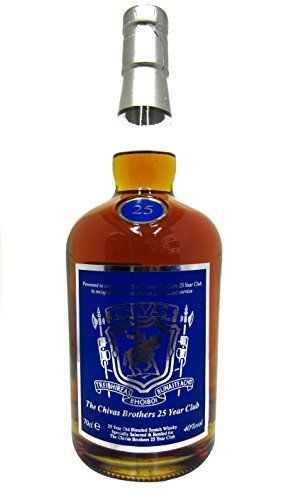 Chivas Regal – The Chivas Brothers 25 Year Club – 25 year old Whisky: Chivas Regal Whisky Unboxed 70cl / 700ml