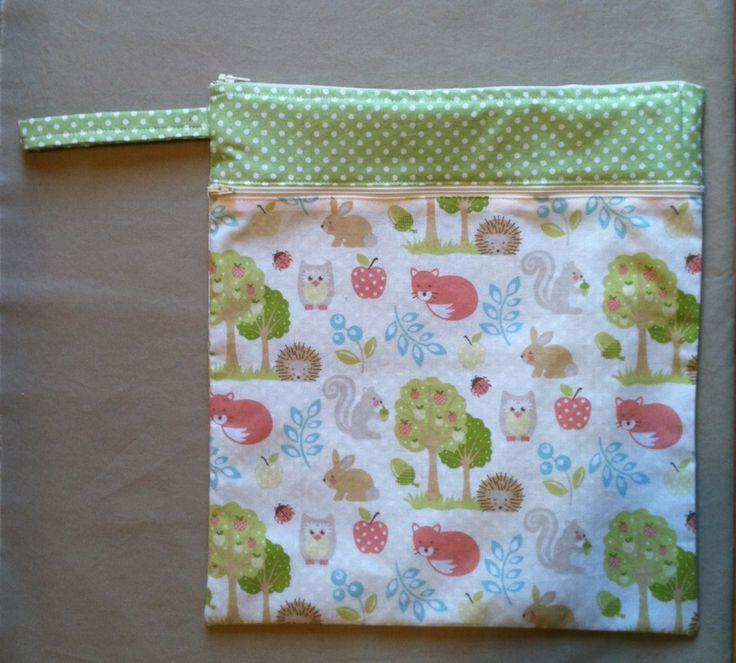 Zippered Knitting Project Bag Tutorial : Diy double zipper wet bag cloth diaper ideas pinterest