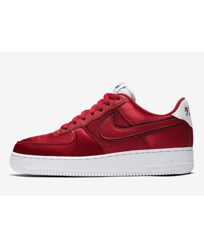 newest collection bbff4 54f9d Nike Air Force 1 White Red AA0287-602