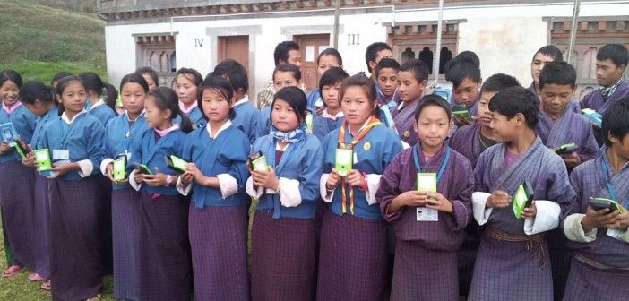 Here's the original publication on the Borgen Magazine about the Cupertino student who facilitated a donation of 1000 THRIVE solar lights to schoolchildren in Bhutan