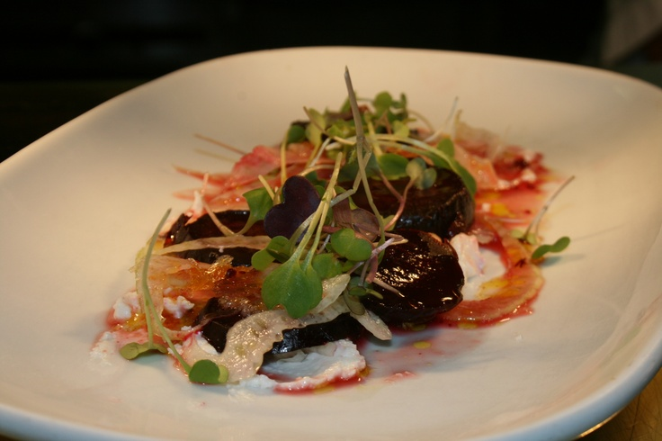 Beetroot and goat's cheese salad from Boulcott Street Bistro's lunch menu