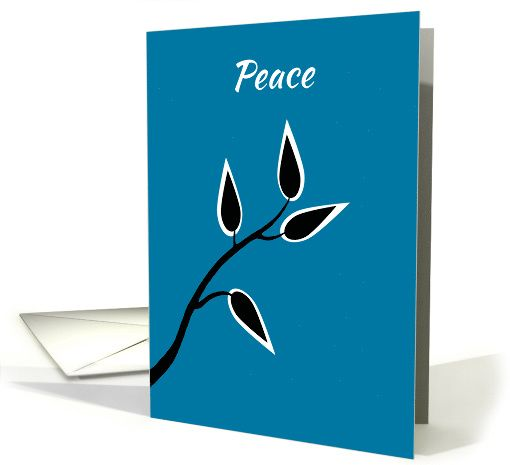 new years peace message to society simple beautiful tree silhouette card pinterest