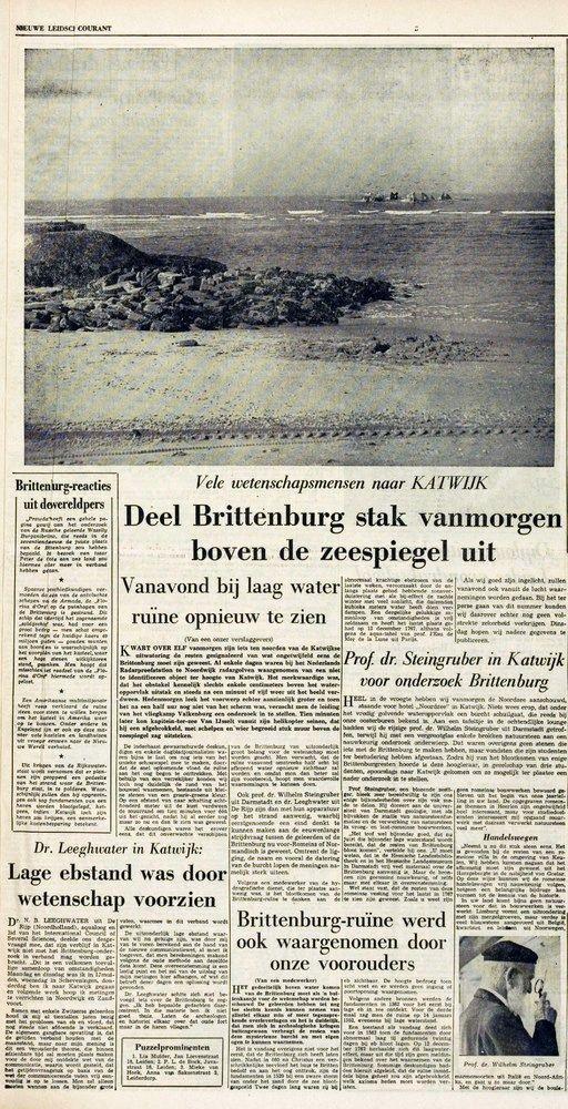 Brittenburg 1 april 1961