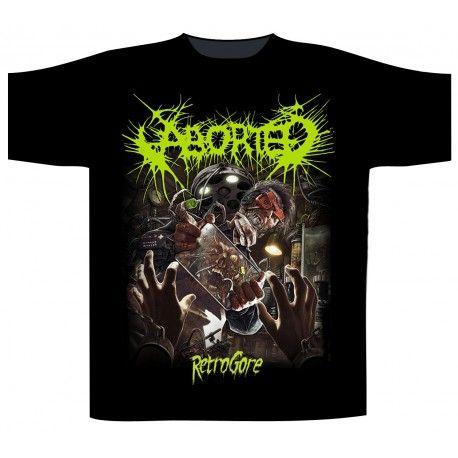 Aborted: Retrogore (tricou)
