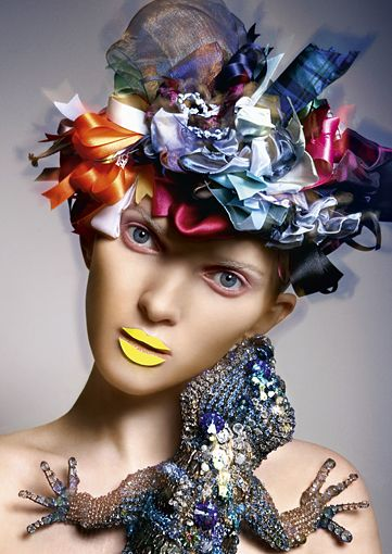 STYLING Model Face <~> :: Heiko Palach Makeup and Hair, Photography Dirk Bader