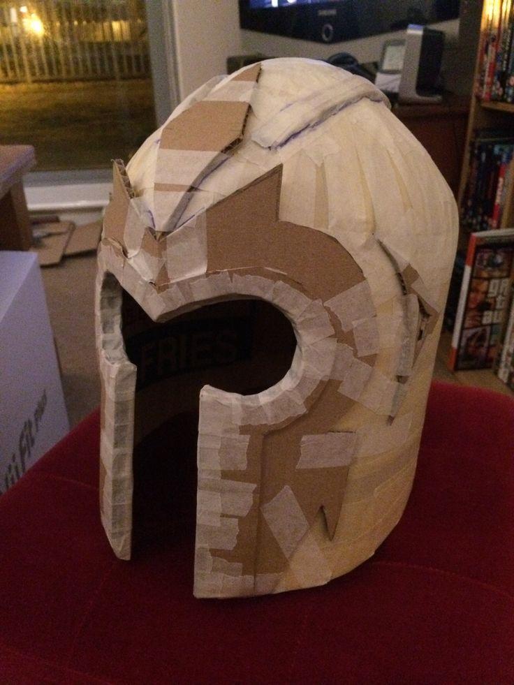 Magneto helmet half way stage