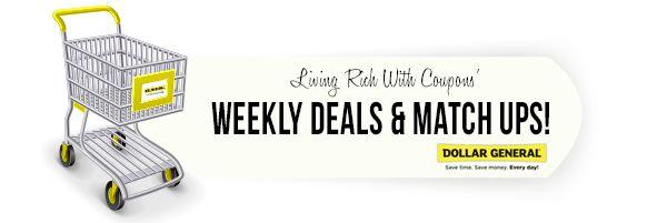 Dollar General Coupon Deals: Week of 10/13 - http://www.livingrichwithcoupons.com/2013/10/dollar-general-coupon-deals-week-of-1013.html