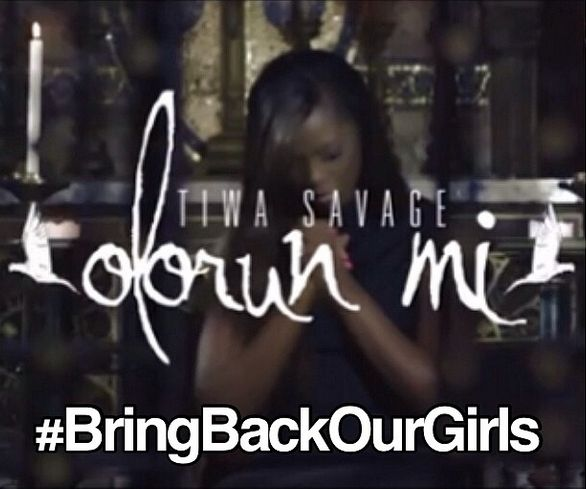 #BringBackOurGirls - Tiwa Savage  - May 2014 - BellaNaija.com