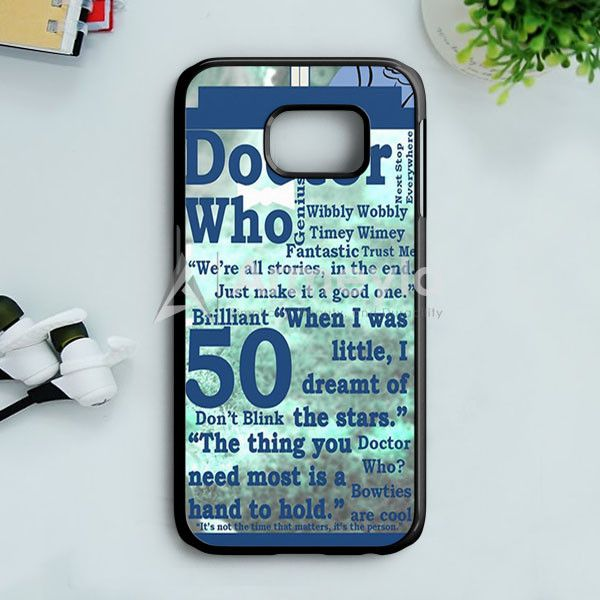 Doctor Who Quotes Samsung Galaxy S7 Case | armeyla.com