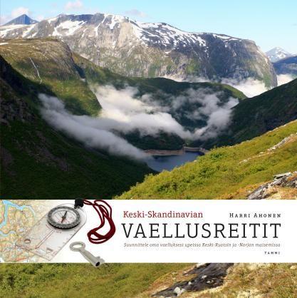 Keski-Skandinavian vaellusreitit - Harri Ahonen - #kirja #keskiskandinavia #vaellusretiti #vaeltaminen #reitit #skandinavia