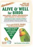 Kordon Alive & Well For Birds, Stress Preventative & Pro-Biotic Tablets