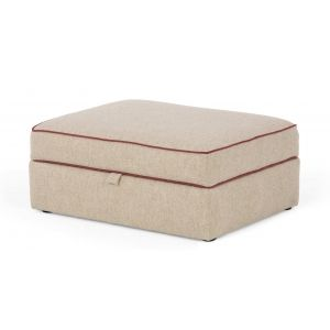 Wolseley Storage Ottoman in fawn beige | made.com