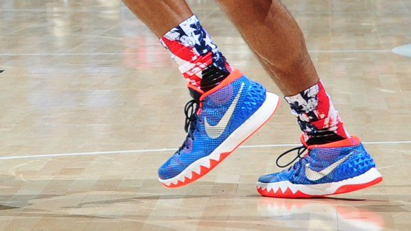 The Red, White & Blue! #NBAKicks #HoopsForTroops