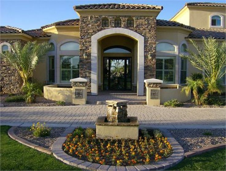 M s de 1000 ideas sobre fachadas de casas bonitas en for Fachadas de casas de un piso sencillas y modernas