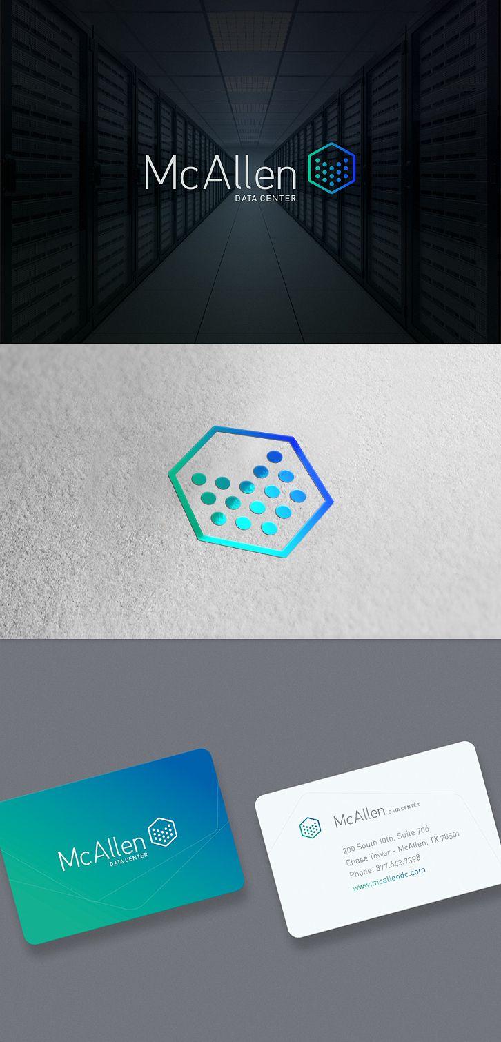 McAllen data center #logo #design for inspiration