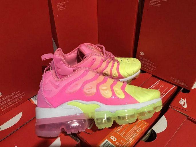 25bb3143bc2fc Size 7.5 Nike 2018 Tn Air Vapormax Plus Gradual Change Violet Yellow Eur  36-39 Shoe