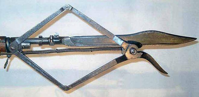 Mosin-Nagant Wire Cutter Bayonet attachment.