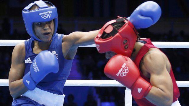 Olympics boxing: Natasha Jonas first British woman to win at Games