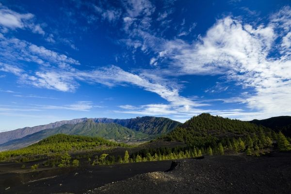 El Paso - Situado en el mismo centro de la isla, El Paso tiene el privilegio de albergar el Parque Nacional de la Caldera de Taburiente. Municipio-cuna de la seda, densos pinares, interesantes rutas de senderismo, espectaculares vistas, legado arqueológico…son algunos de los elementos que lo configuran.