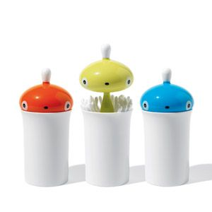 Pisellino cotton swab holder - A di Alessi - FormAdore - Fun and entertaining :)
