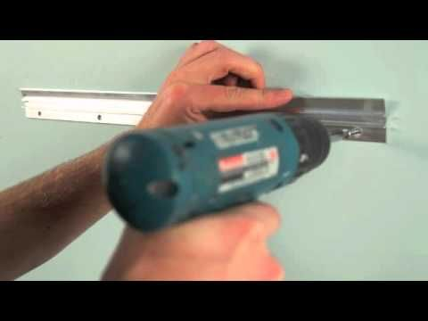 How to hang a heavy mirror or picture with ITW Anchors - YouTube