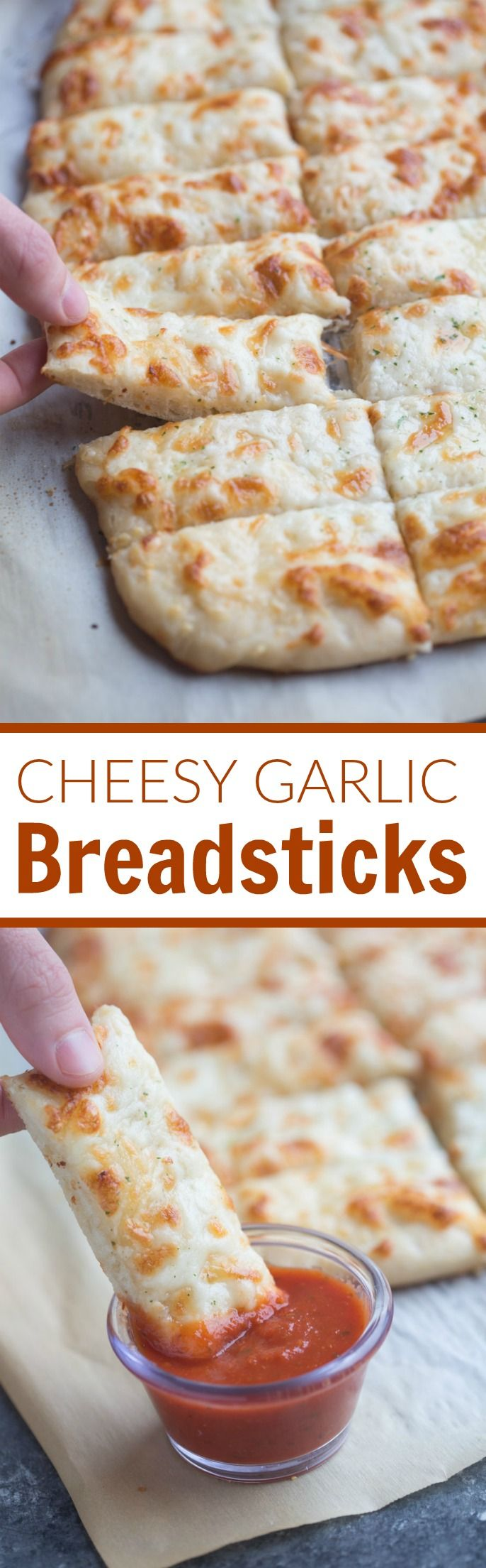 The BEST and EASIEST Cheesy Garlic Breadsticks! You'll never order take-out again! | Tastes Better From Scratch